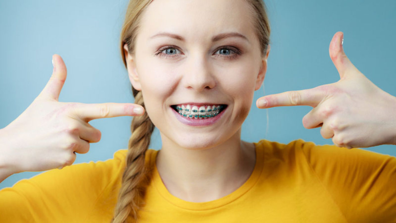 Wearing braces for adults